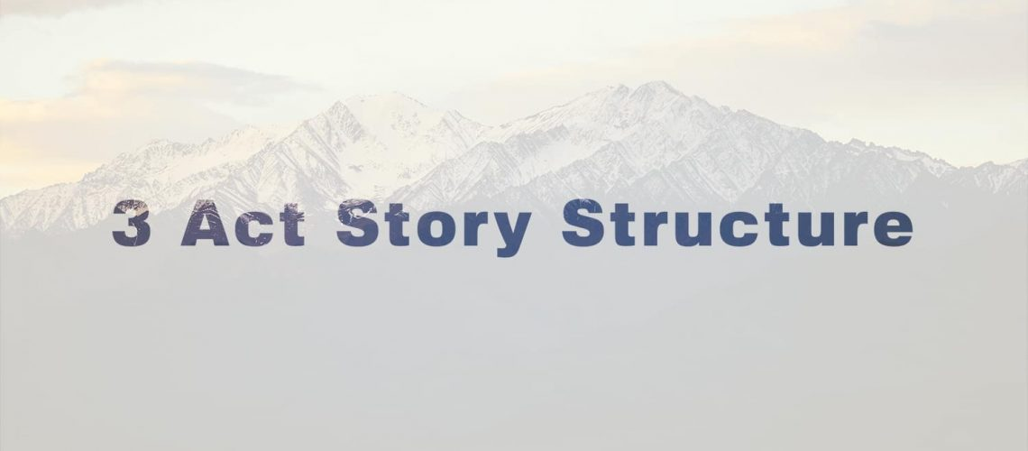 3 Act Story Structure featured image.